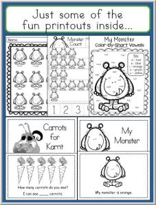 Monbed Activity 1 - Some Fun Printouts